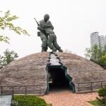 A walk down Korean War history