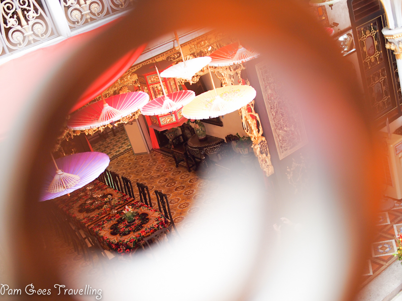 Peeping into Peranakan house