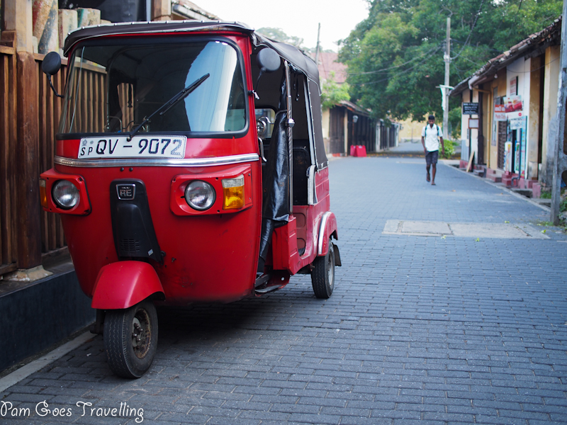 Tuk-tuk! One of the transport I use frequently to bring to to and fro my hostels.