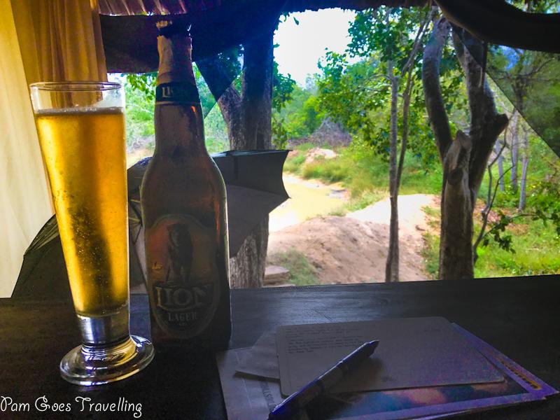 Lion, Sri Lanka's national beer.
