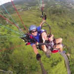 YOLO with paragliding